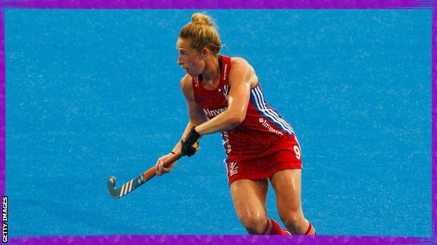 in_pictures Susannah Townsend playing hockey