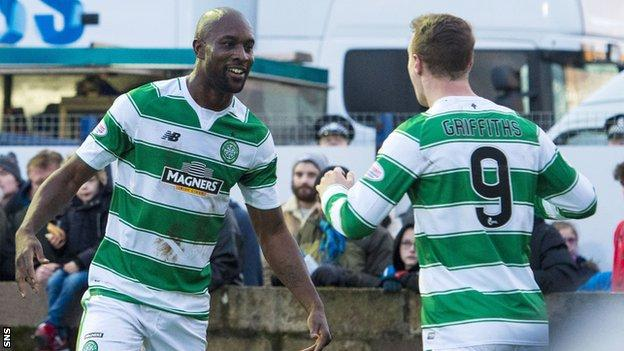 Carlton Cole (left) and Leigh Griffiths