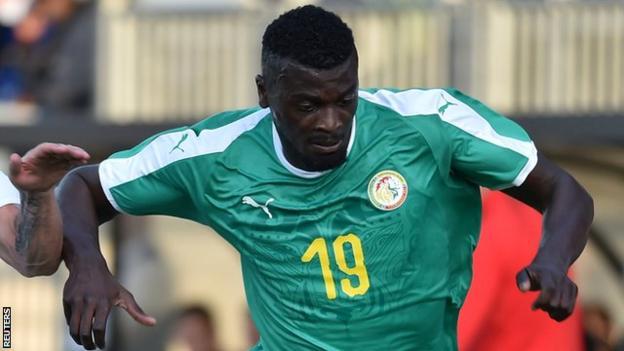 Senegal forward M'Baye Niang