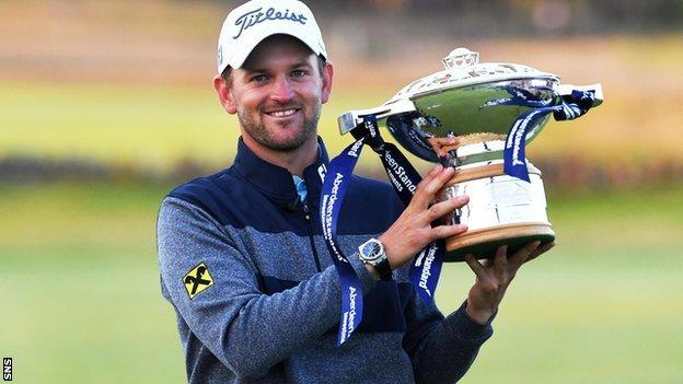 Austria's Bernd Wiesberger will defend the Scottish Open title in front of a limited crowd