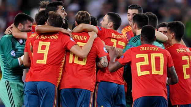 Euro Under-21 Championship: Spain beat Germany in Udine to win title thumbnail