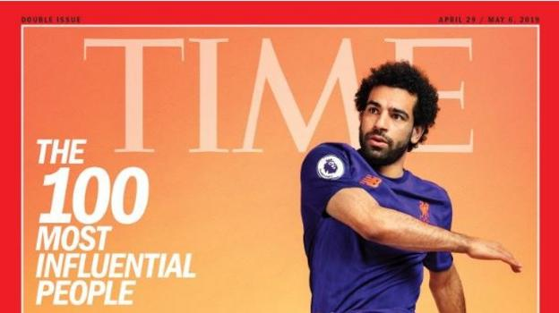 18e447e83 Mohamed Salah named one of world s 100 most influential people by Time -  BBC Sport