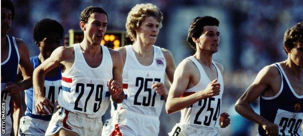 Ovett, Cram and Coe were a force to be reckoned with in the 1980s