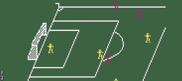 Intellivision Soccer
