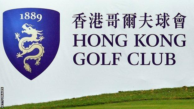 The Hong Kong Golf club was to stage the Hong Kong Open