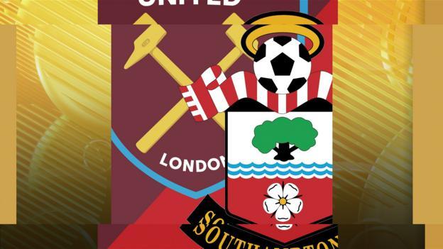 West Ham v Southampton