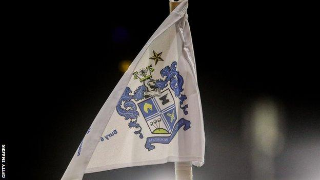 Bury will start the season with a 12-point deduction after entering a company voluntary agreement