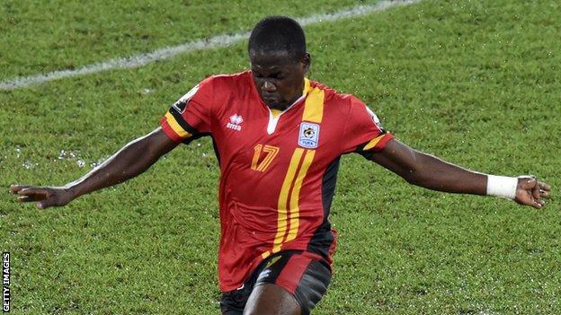 Uganda's Farouk Miya
