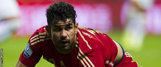 Diego Costa for Spain