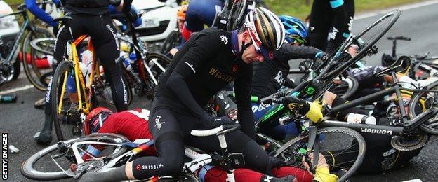 Team Wiggins' Andrew Tennant
