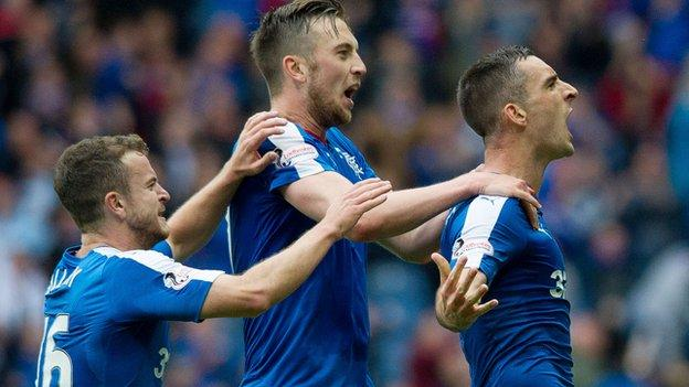 Lee Wallace (right)