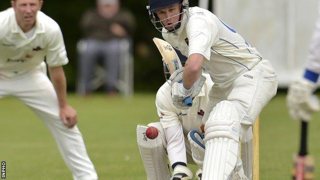 Harry McClintock was in blistering form for Ireland against Scotland in Bangladesh