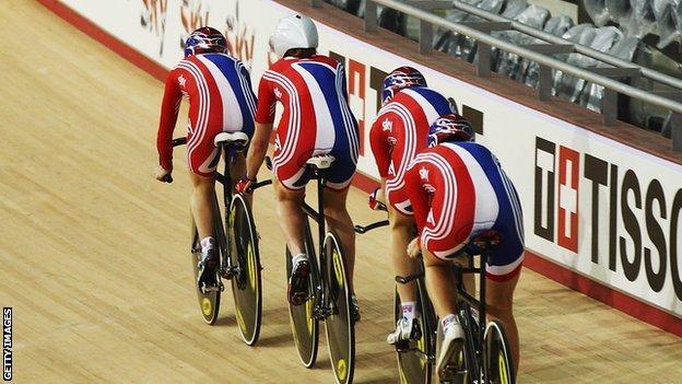 Team GB riders
