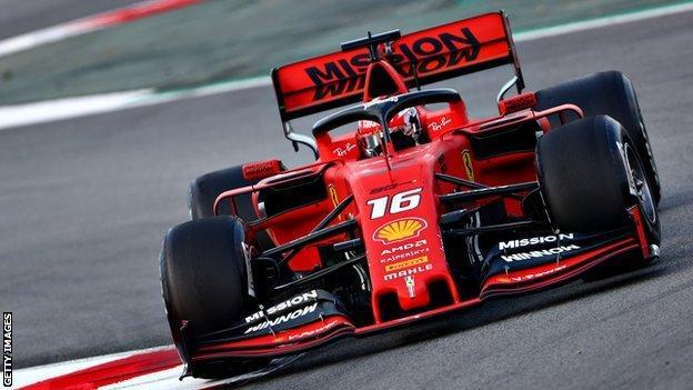 The 2019 Ferrari