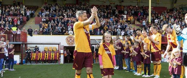 Keith Lasley recently celebrated his testimonial with Motherwell