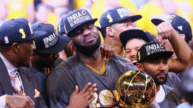 Lebron James leads Cleveland Cavaliers to NBA title - BBC Sport