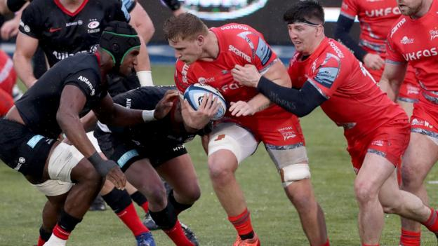 Premiership: Saracens 36-22 Sale Sharks - Sarries score four tries in win over Sharks thumbnail
