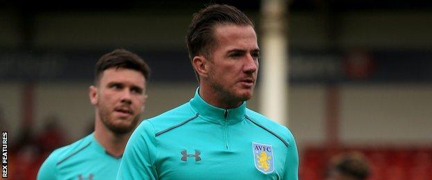 Aston Villa striker Ross McCormack