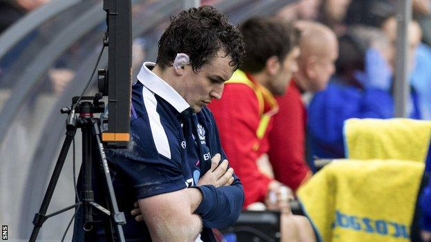 John Hardie has endured an injury-hit Six Nations campaign and has now been ruled out