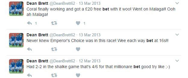 Dean Brett's tweets