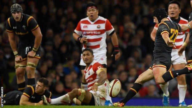 Sam Davies drop goal