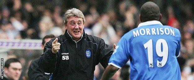 Steve Bruce spent six years in charge of Birmingham City