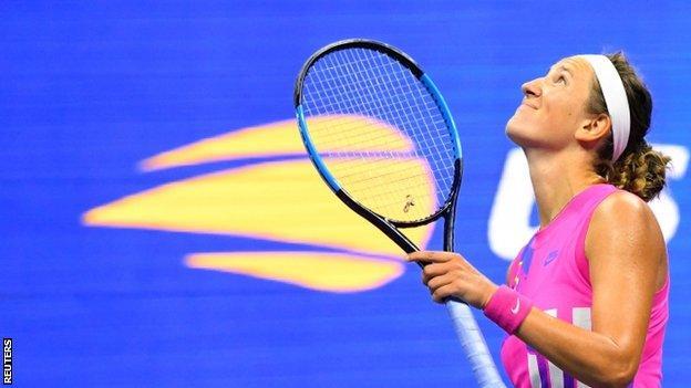 sports victoria azarenka celebrates