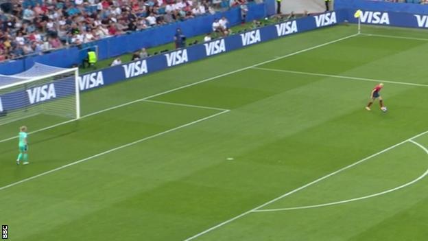 Norway goal-kick