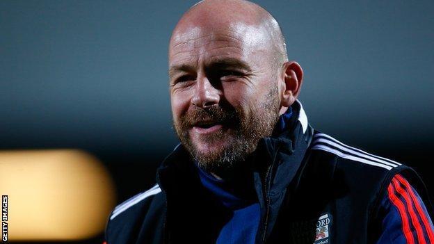 Brentford head coach Lee Carsley