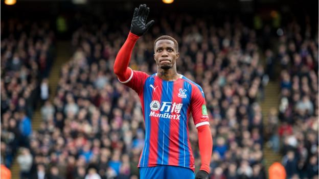 Wilfried Zaha has offered 50 homes for free to NHS staff