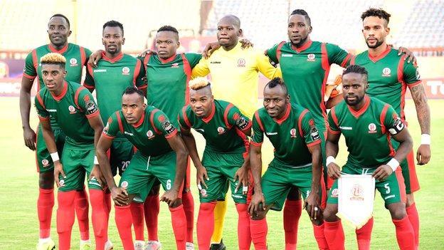 Burundi's national team