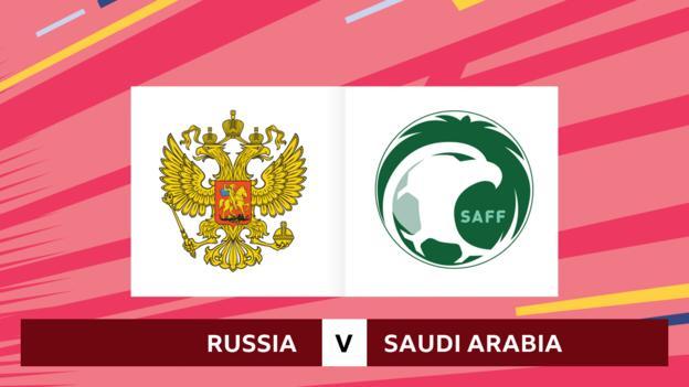 101970088 rus sau - World Cup 2018: Russia v Saudi Arabia - rate the avid gamers