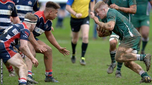 Bristol and London Irish U16s go head-to-head at the Wellington Festival