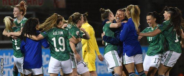 NI's win was their sixth competitive victory in a row