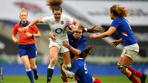 Scarratt penalty gives England win over France with last kick - highlights & report thumbnail