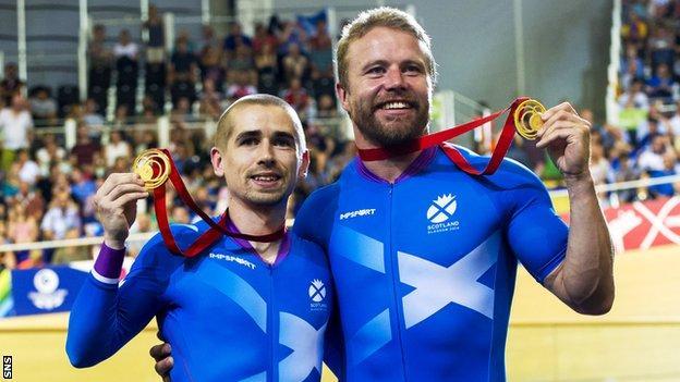 Neil Fachie and Craig MacLean