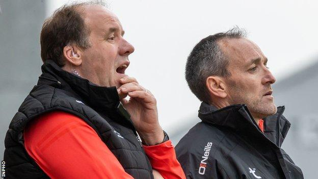 Feargal Logan and Brian Dooher were appointed to the Tyrone job after Mickey Harte's departure in November