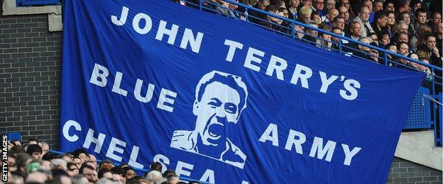 John Terry banner