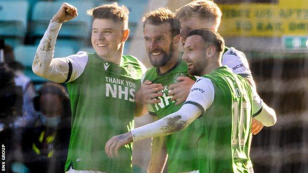 Kevin Nisbet, Martin Boyle and Christian Doidge scored 46 goals between them last season