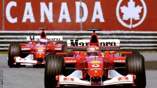 Michael Schumacher win the 2002 Canadian Grand Prix