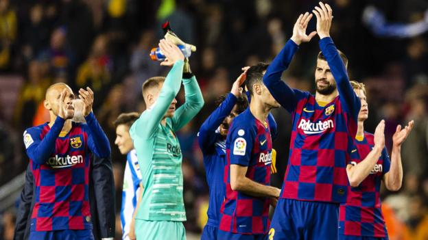 La Liga: Barcelona to resume title defence against Real Mallorca on 13 June - bbc