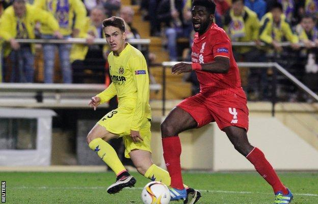 Liverpool lose late at Villarreal