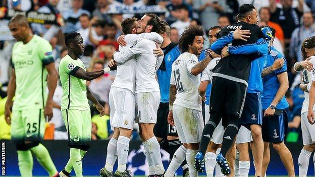 City lose to Madrid