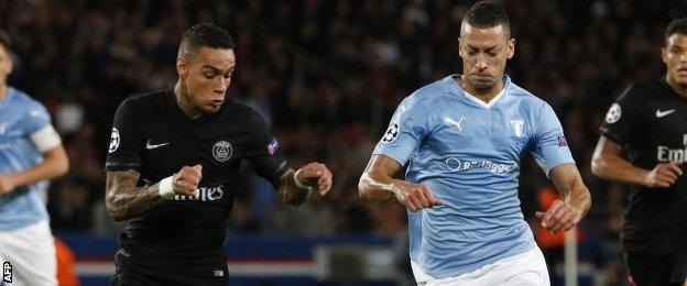 Gregory Van der Wiel, left, created four chances, the joint-most of defenders on Tuesday, and also made four interceptions.