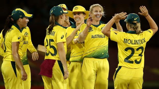 ICC Women's World Twenty20: Australia, India & West Indies all win on opening day