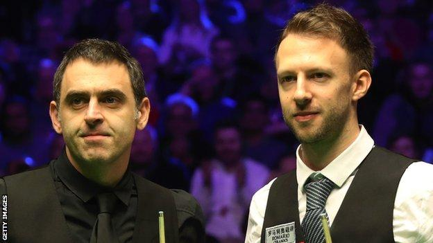 Trump beat O'Sullivan 9-7 in last year's final in Belfast