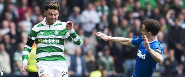 Patrick Roberts and Andy Halliday
