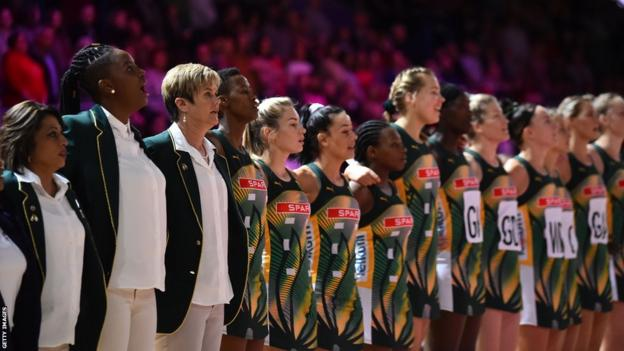 The South Africa netball team