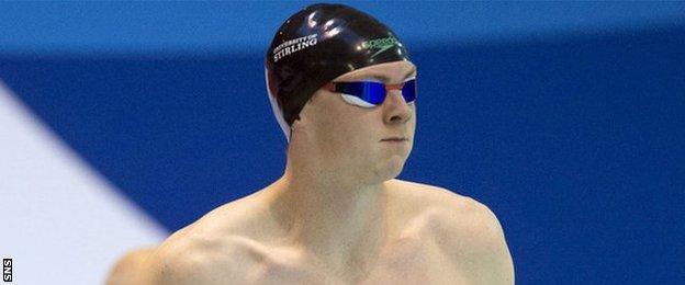 Ross Murdoch is one of three Scots in the 200m breaststroke final