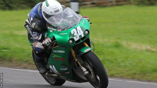 Joe Loughlin clinched two second places at this year's Ulster GP